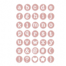 662520 Sizzix Thinlits Die Set 35PK - Dainty Lowercase by Debi Potter